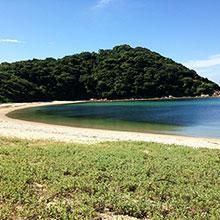 우마시마 해수욕장
